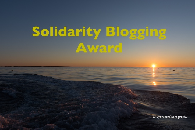 solidarity blogging award