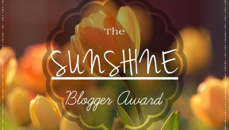 Sunshine Blogger Award – Number 5 – justabitfurther